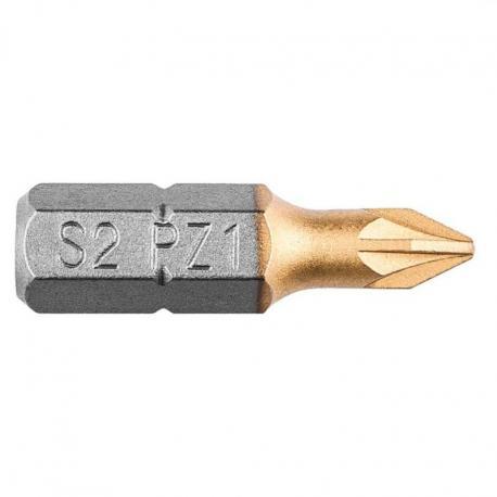 GRAPHITE Końcówki wkrętakowe PZ1 x 25 mm, 2 szt.