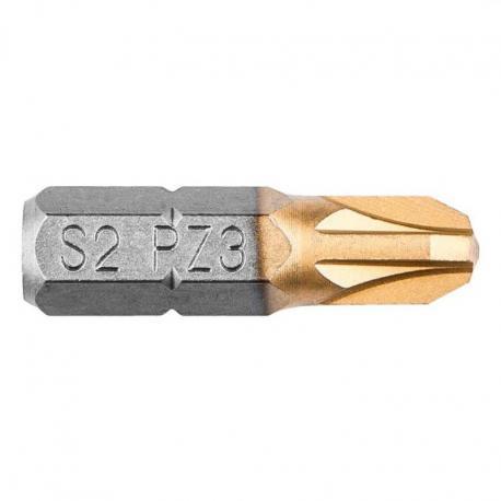 GRAPHITE Końcówki wkrętakowe PZ3 x 25 mm, 2 szt.
