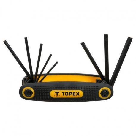 TOPEX Klucze Torx T9-T40, zestaw 8 szt.