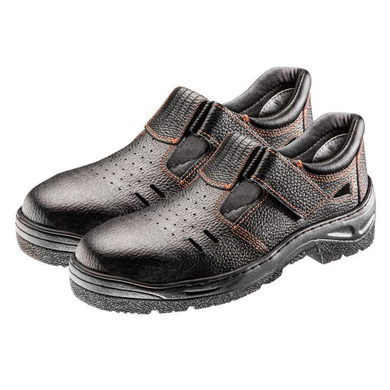 NEO Sandały robocze S1 SRA, skórzane, rozmiar 41