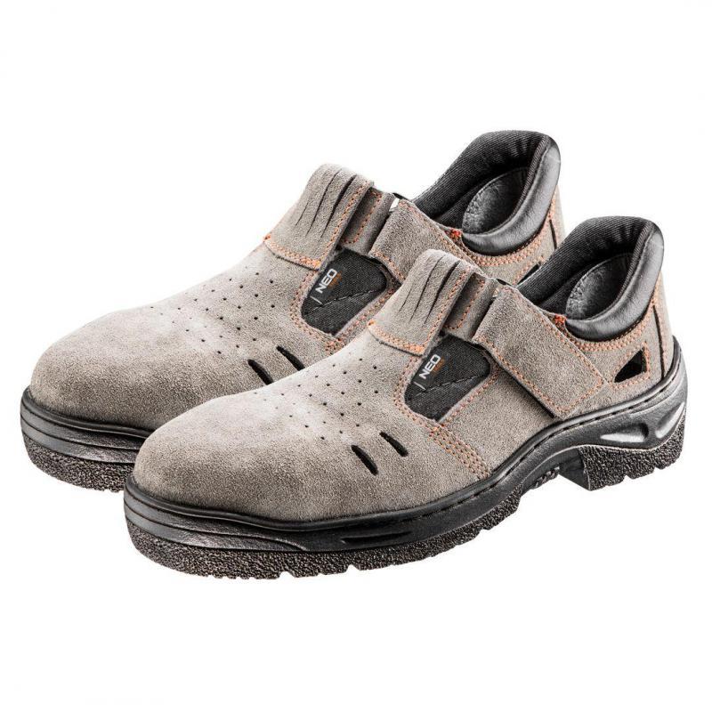 NEO Sandały robocze S1 SRA, zamszowe, rozmiar 40