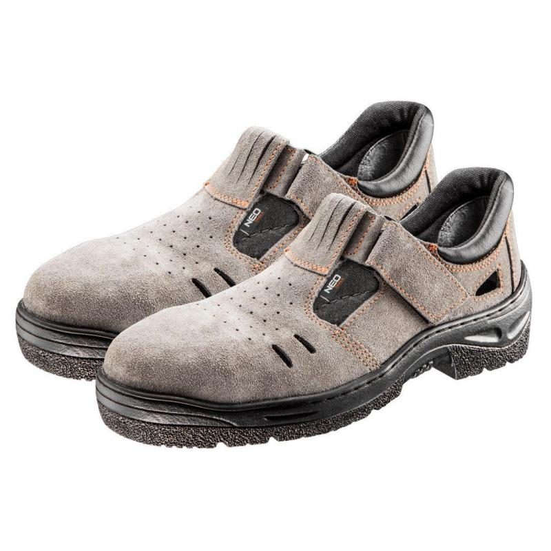 NEO Sandały robocze S1 SRC, zamszowe, rozmiar 36