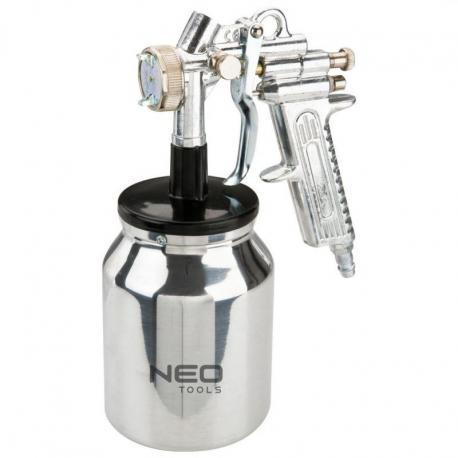 NEO Pistolet natryskowy dolny zbiornik 1.0 l, 1.4 mm