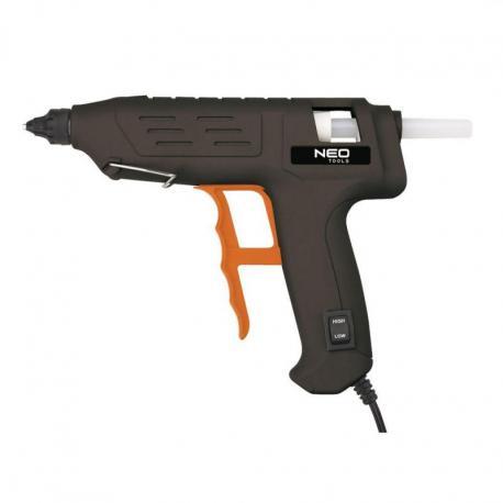 NEO Pistolet klejowy 11 mm, 80W, regulacja temperatury