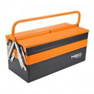 NEO Skrzynka narzędziowa 45 x 20 x 21 cm, metalowa