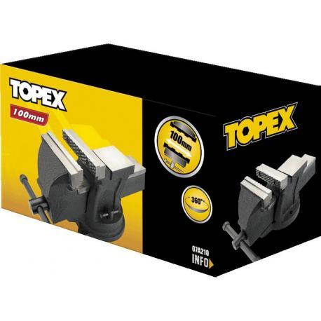 TOPEX Imadło ślusarskie obrotowe 100 mm