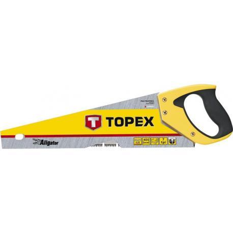 TOPEX Piła płatnica Aligator, 400 mm, 7 TPI
