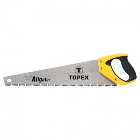 TOPEX Piła płatnica Aligator, 450 mm, 7 TPI