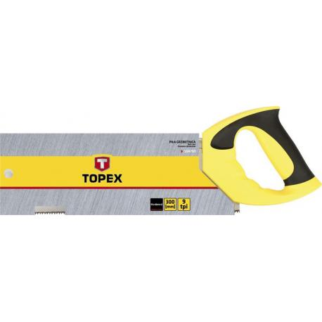 TOPEX Piła grzbietnica 300 mm, 9 TPI