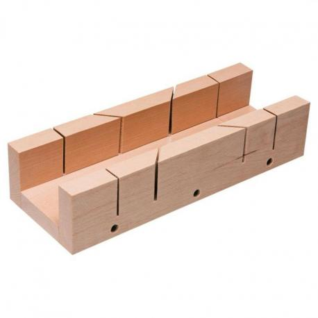 TOPEX Skrzynka uciosowa drewniana 300 x 65 x 60 mm