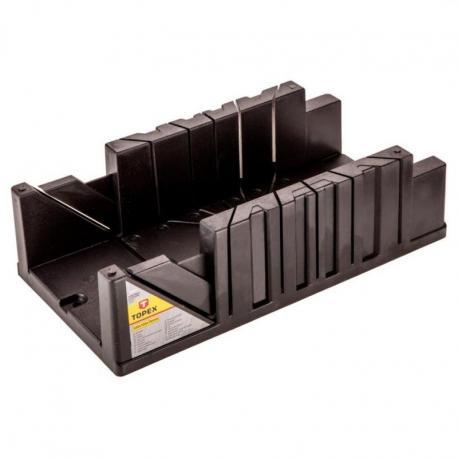 TOPEX Skrzynka uciosowa plastikowa 327x125x78 mm