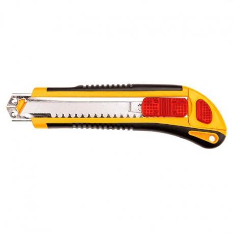 TOPEX Nóż z ostrzem łamanym 18 mm, 3 ostrza