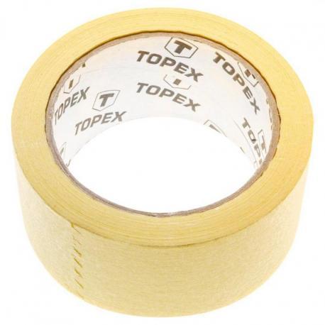 TOPEX Taśma malarska 35 m x 38 mm, żółta