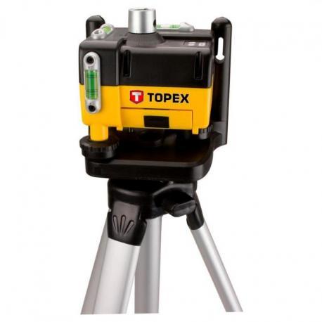 TOPEX Poziomnica laserowa obrotowa, statyw