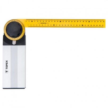 TOPEX Kątomierz nastawny 350 x 210 mm