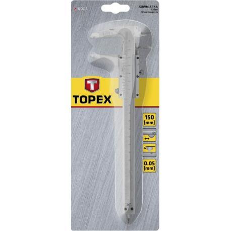 TOPEX Suwmiarka 150 mm