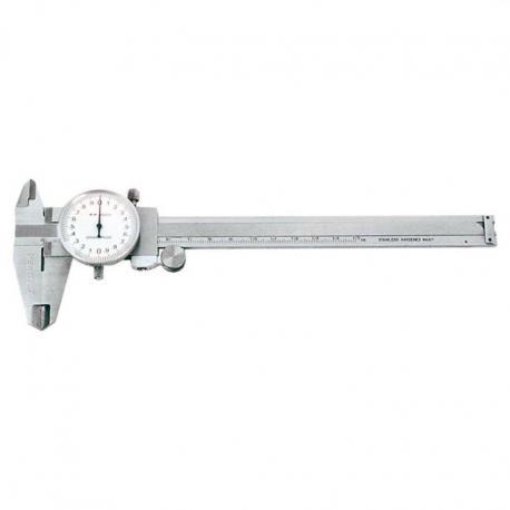 TOPEX Suwmiarka 150 mm, odczyt analogowy