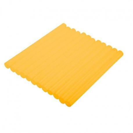 TOPEX Wkłady klejowe 11 mm, żółte, 12 szt.
