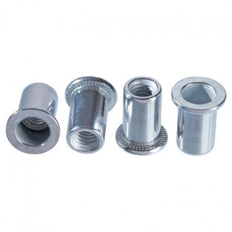 TOPEX Nitonakrętki aluminiowe M4, 20 szt.