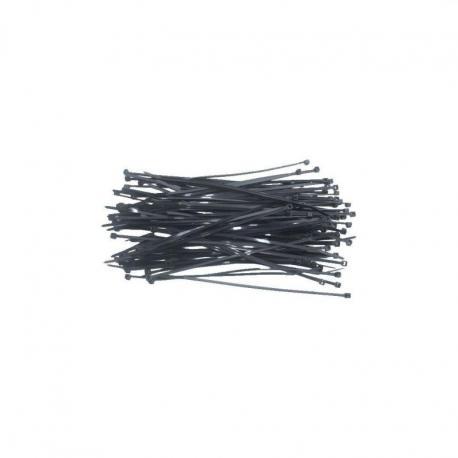 TOPEX Opaski zaciskowe 2.5 x 100 mm, 100 szt., czarne