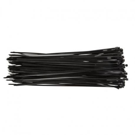 TOPEX Opaski zaciskowe 3.6 x 300 mm, 100 szt., czarne