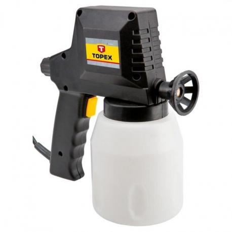TOPEX Pistolet lakierniczy elektryczny, 230V, 50W