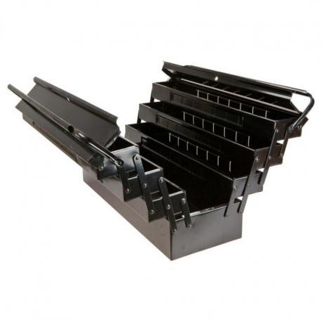 TOPEX Skrzynka narzędziowa 55 x 20 x 27 cm, metalowa