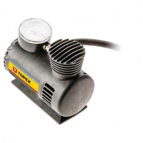 TOPEX Kompresor samochodowy 12 V z osprzętem