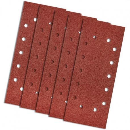 GRAPHITE Papier ścierny 115 x 280 mm, K60, 5 szt., z otworami