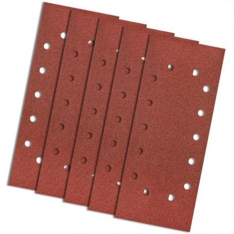 GRAPHITE Papier ścierny 115 x 280 mm, K100, 5 szt., z otworami