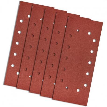 GRAPHITE Papier ścierny 115 x 280 mm, K180, 5 szt., z otworami