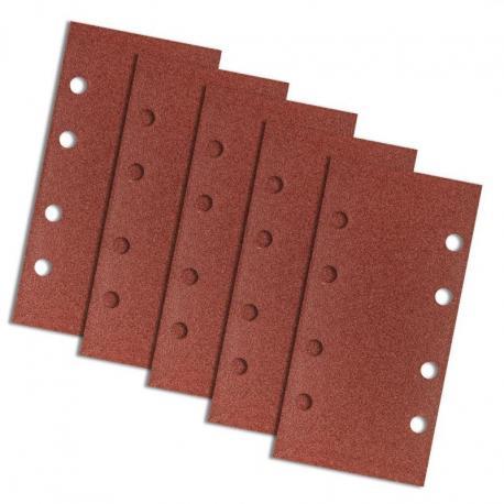 GRAPHITE Papier ścierny na rzep 93 x 185 mm, K100, 5 szt., z otworami