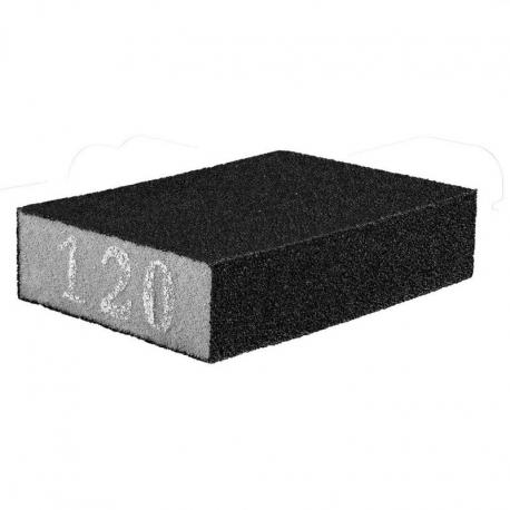 GRAPHITE Gąbka ścierna 70 x 25 x 100 mm, K120