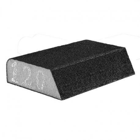 GRAPHITE Gąbka ścierna 98 x 25 x 68 mm, K120, skośna