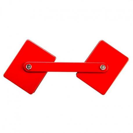 GRAPHITE Regulowany spawalniczy wspornik magnetyczny, udźwig 22.7 kg