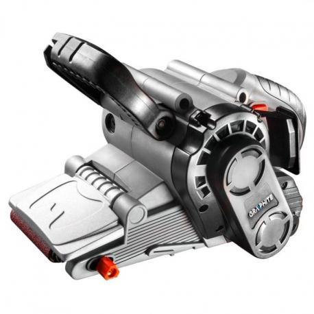 GRAPHITE Szlifierka taśmowa 800W, pas bezkońcowy 75 x 457 mm