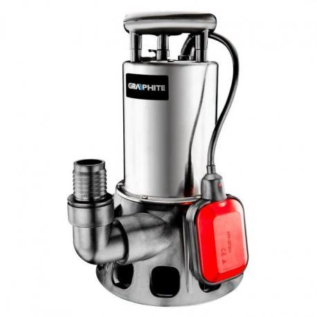 GRAPHITE Pompa zanurzeniowa do wody brudnej 650W, wydajność 11500 l/godz.