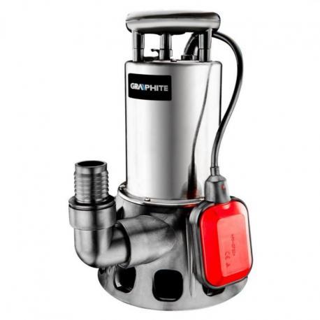 GRAPHITE Pompa zanurzeniowa do wody brudnej 900W, wydajność 17 000 l/godz.