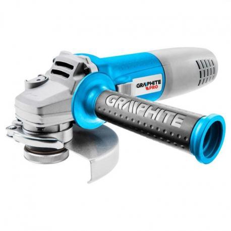 GRAPHITE PRO Szlifierka kątowa 720W, tarcza 125 x 22.2 mm, obroty 11 000 min?1