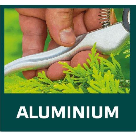 VERTO Sekator ogrodowy uniwersalny 195 mm aluminiowy, średnica cięcia 18 mm