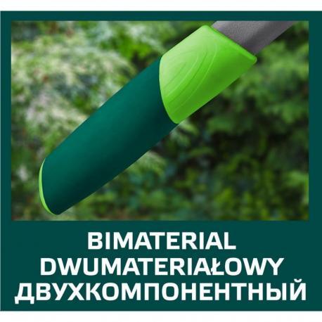 VERTO Sekator do gałęzi 520 mm, średnica cięcia 30 mm, uchwyty włókno szklane