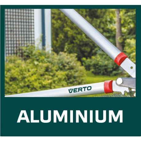 VERTO Sekator do gałęzi 690 mm, średnica ciecia 42 mm, uchwyty aluminiowe