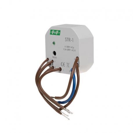 Sterownik roletowy, dwuprzyciskowy STR-1 napięcie 230V AC STR-1