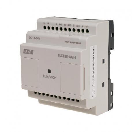 Moduł rozszerzeń analogowych wejść prądowych FLC18E-4AI-I