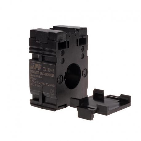 Przekładnik prądowy 50/5A Ø22, kl. 0,5 TI-50-5