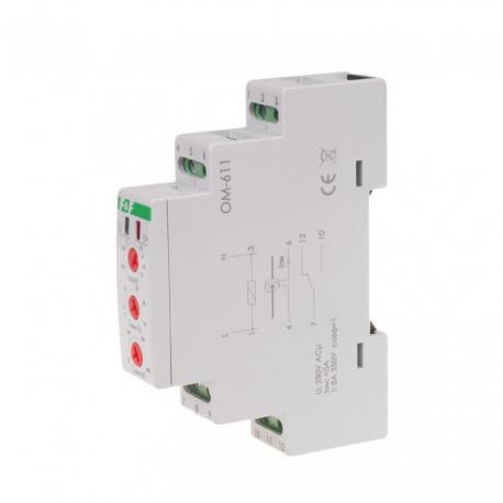 Ogranicznik mocy, montaż na szynie DIN OM-611