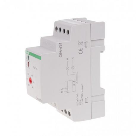 Ogranicznik mocy, montaż na szynie DIN OM-631