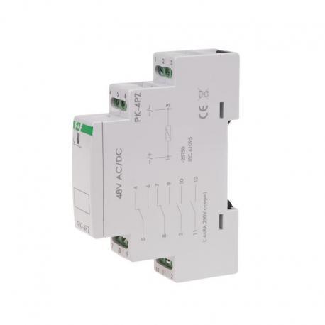 Przekaźnik elektromagnetyczny PK-4PZ 48V PK-4PZ-48V