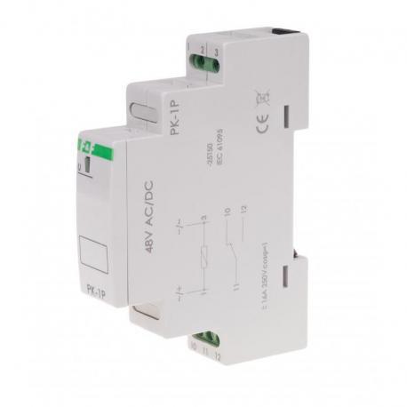 Przekaźnik elektromagnetyczny PK-1P 48 V PK-1P-48V