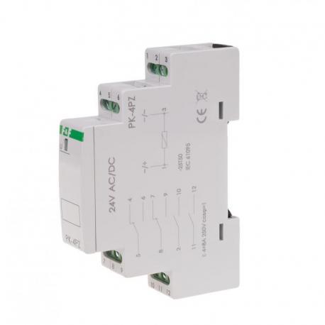 Przekaźnik elektromagnetyczny PK-4PZ 24V PK-4PZ-24V